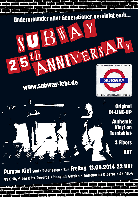 Subway - 25th Anniversary