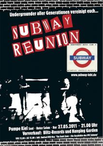 Plakat Subway Reunion