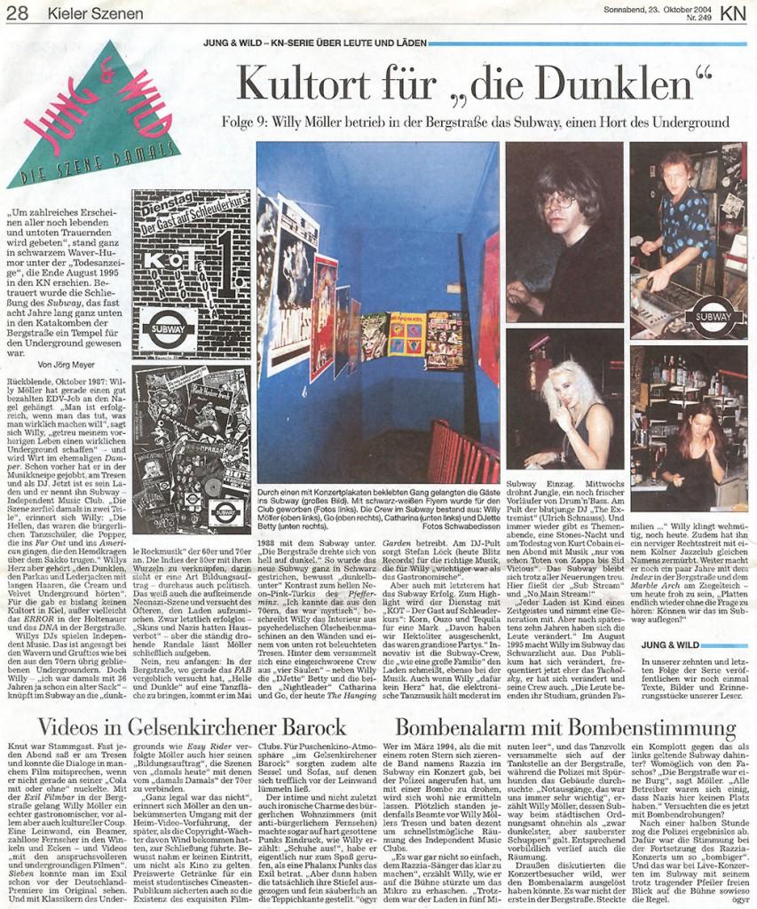 """Kultort für """"Die Dunklen"""""""